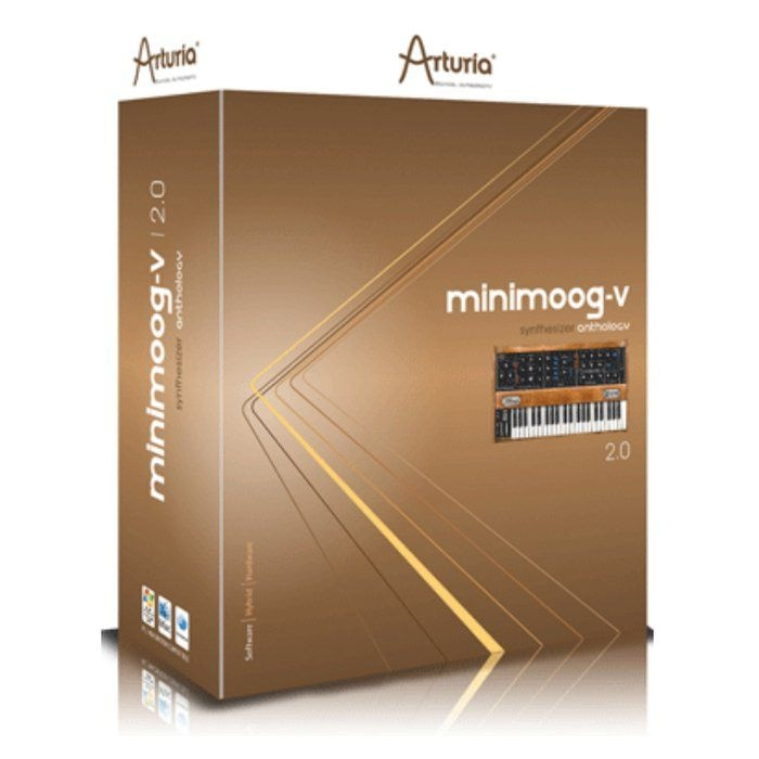Программное обеспечение Arturia MINIMOOG V Download