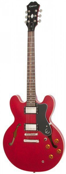 EPIPHONE DOT CHERRY полуакустическая электрогитара