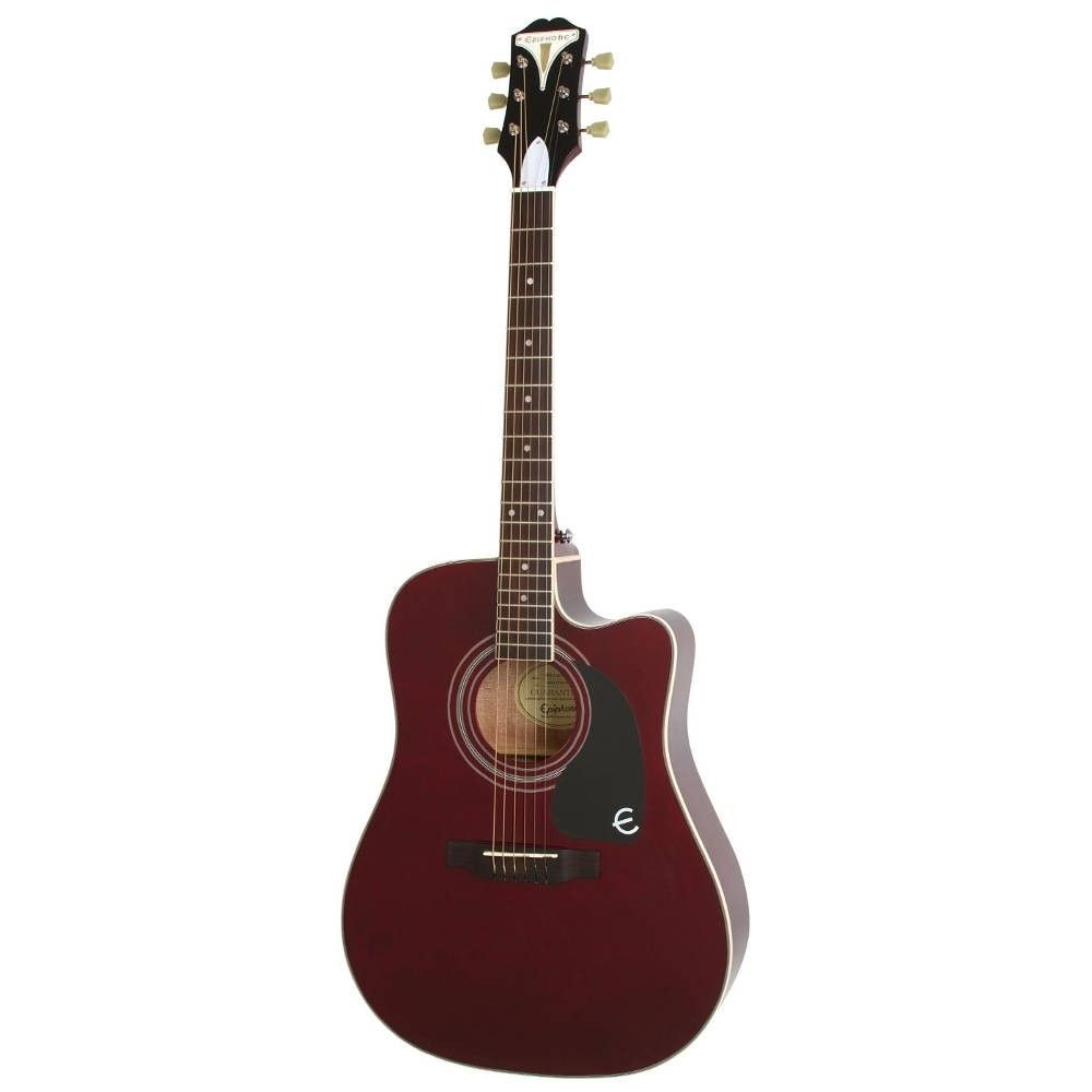 EPIPHONE PRO-1 ULTRA Acoustic/Electric Wine Red электроакустическая гитара