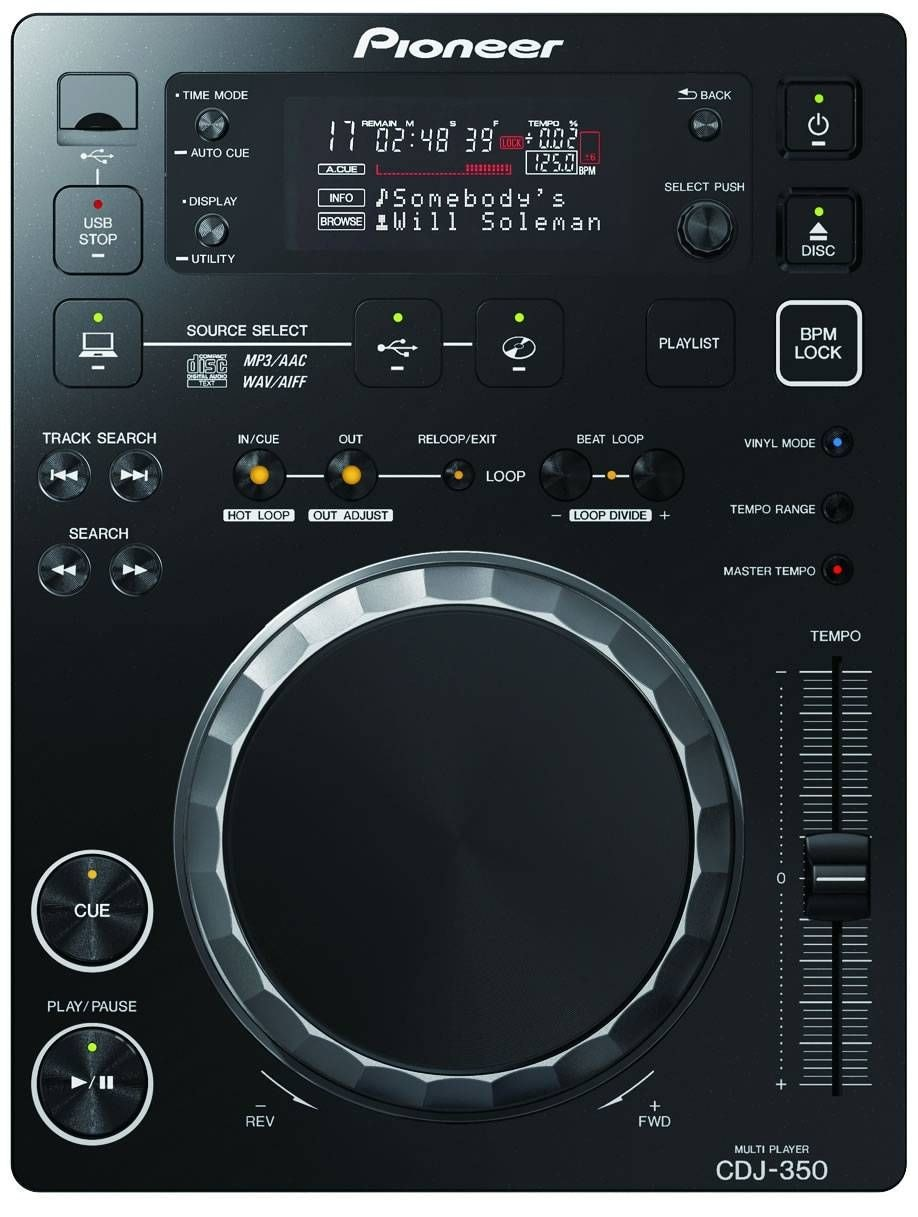 PIONEER CDJ-350 DJ CD/MP3 плеер