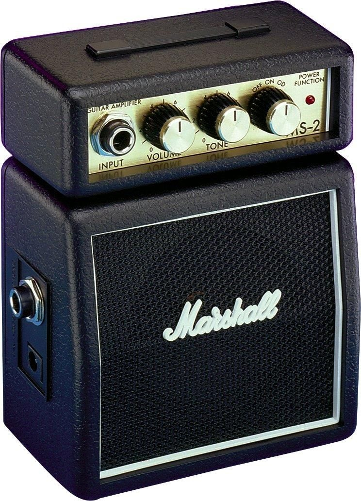 MARSHALL MS-2 MICRO AMP (BLACK) микрокомбо