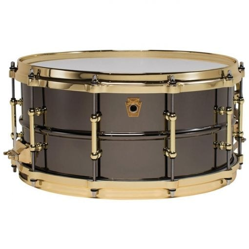 "Малый барабан LUDWIG LB417BT 14""*6.5"" Black Beauty series"