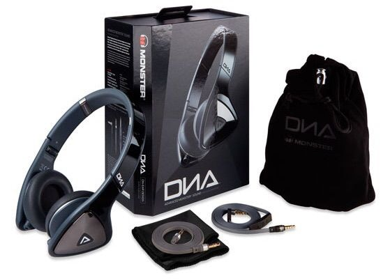 Наушники накладные Monster® DNA MH DNA ON BK CA WW Monster® DNA