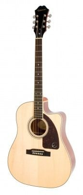 img_EPIPHONE AJ-220SCE Solid Top Ac/Electric Natural электроакустическая гитара