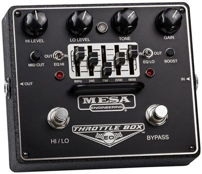 MESA BOOGIE THROTTLE BOX EQ педаль эффектов