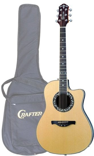 Электроакустическая гитара CRAFTER FSG-250EQ/N