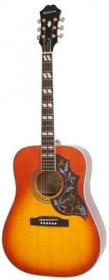 img_EPIPHONE HUMMINGBIRD PRO ACOUSTIC/ELECTRIC W/SHADOW FADED CHERRY BURST электро-акустическая гитара