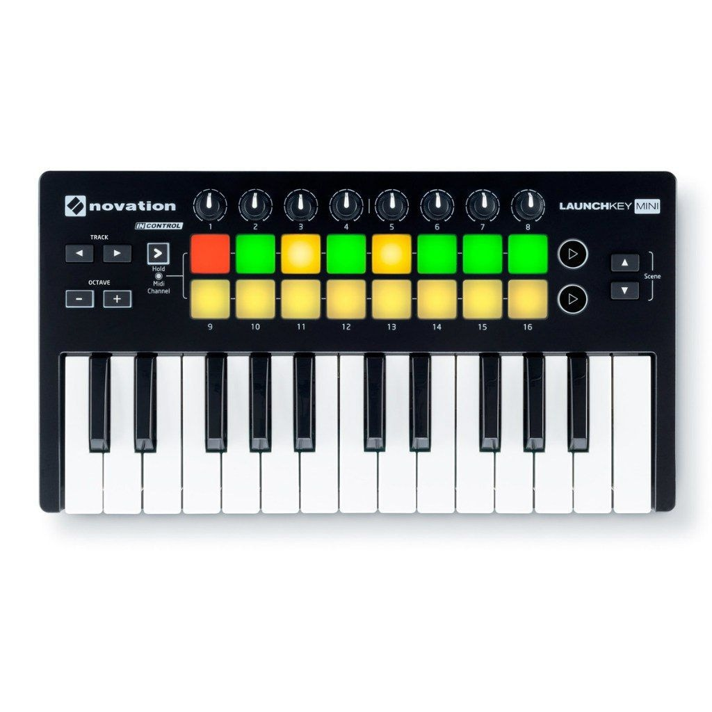 NOVATION LaunchKey Mini MK2 контроллер