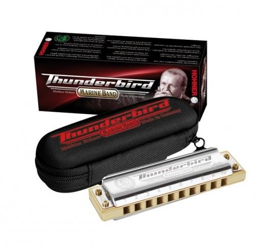 Губная гармоника HOHNER Marine Band Thunderbird Low A (M201173)