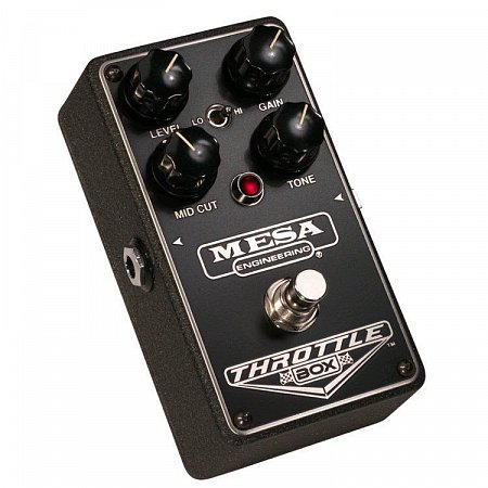 MESA BOOGIE THROTTLE BOX DISTORTION педаль дисторшн