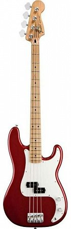 FENDER STANDARD PRECISION BASS MN CANDY APPLE RED TINT, басгитара