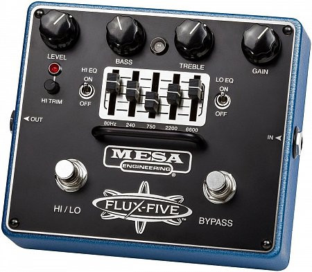 MESA BOOGIE FLUX-FIVE OVERDRIVE+ педаль эффектов